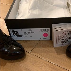 CHANEL Shoes - Chanel booties size 38.5